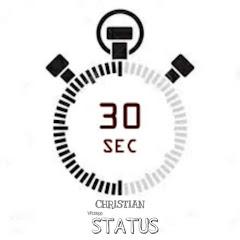 30Sec Christian Status