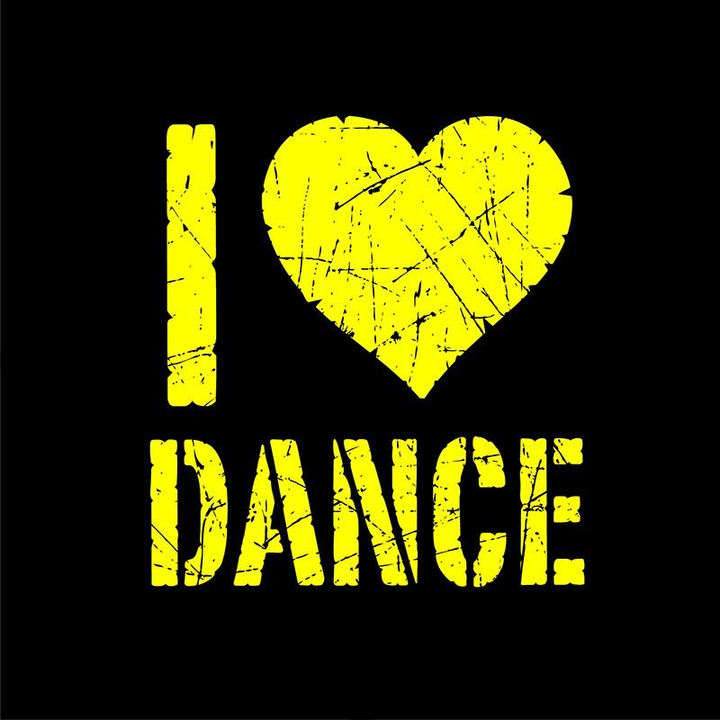 Logo for I LOVE DANCE