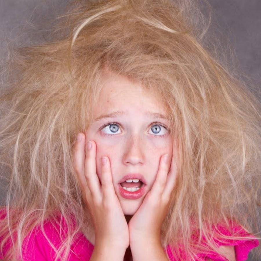 прикольная картинка волосы дыбом качество беспорядок