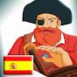 Barbarroja dibujos animados de piratas