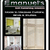 Emanuel's Curtains blinds and shutters