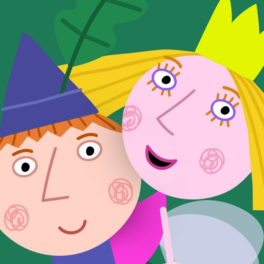 ben and holly's little kingdom  youtube