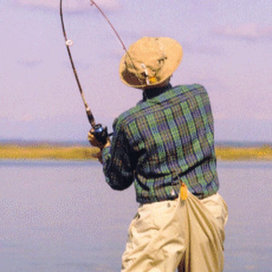 Анимационная картинка про рыбалку