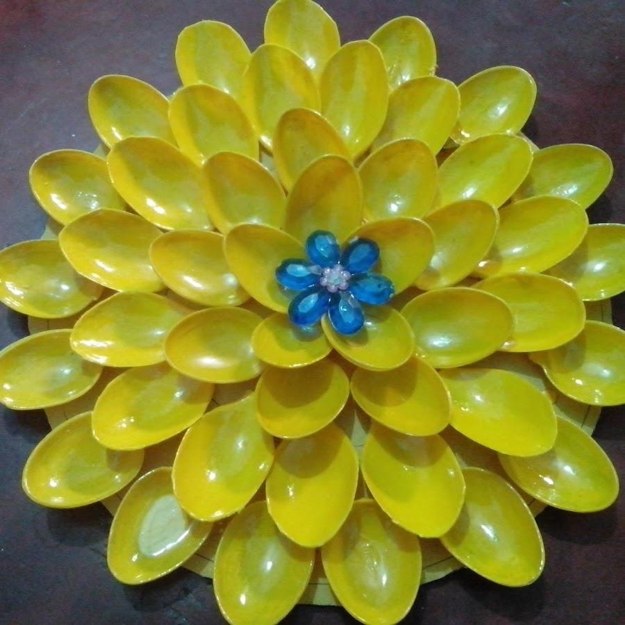 яичные цветы из пластиковых вилок фото найдете