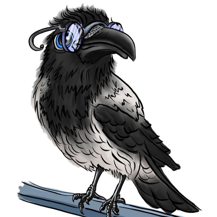 Картинки мультяшные ворон
