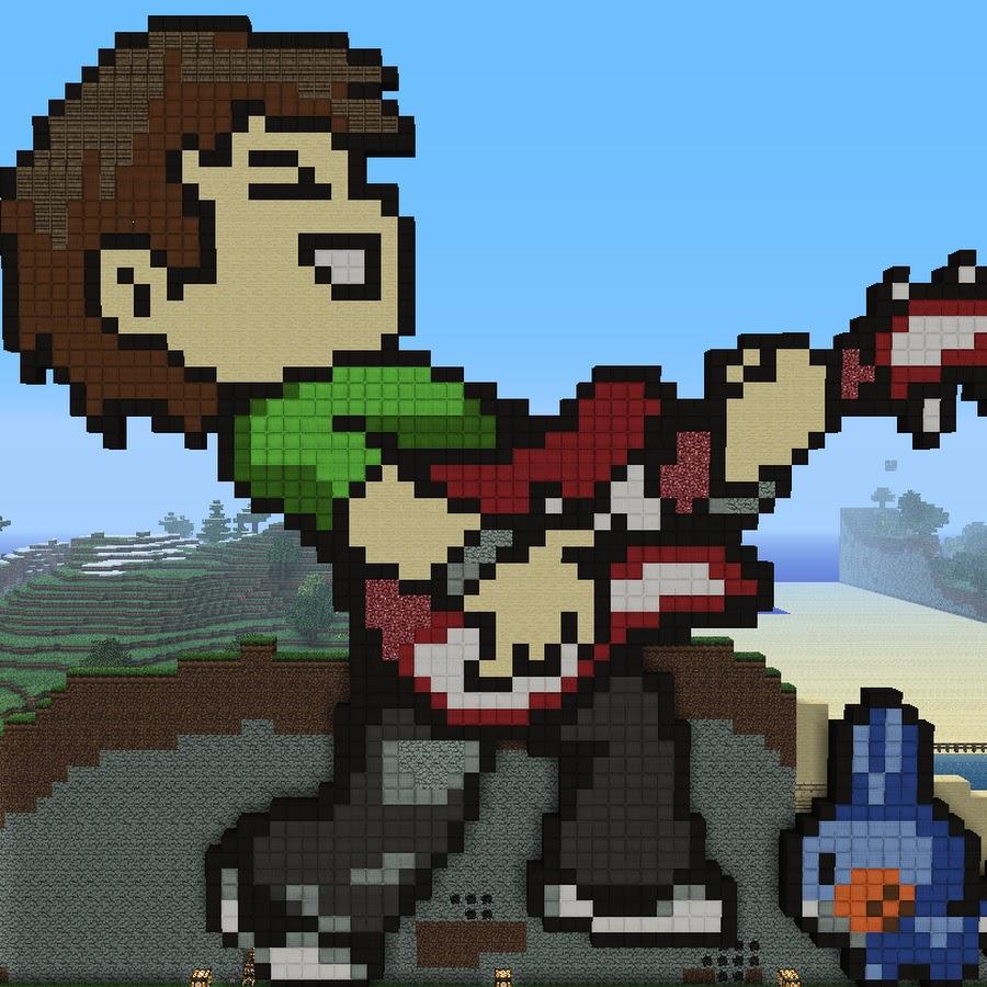смотреть майнкрафт в пиксельном виде #5
