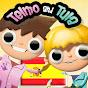 Telmo y Tula, dibujos divertidos y educativos de manualidades y recetas