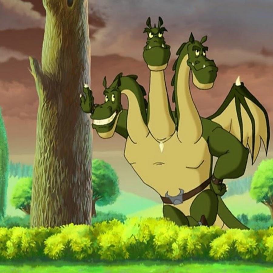 Картинка из мультфильма змей горыныч