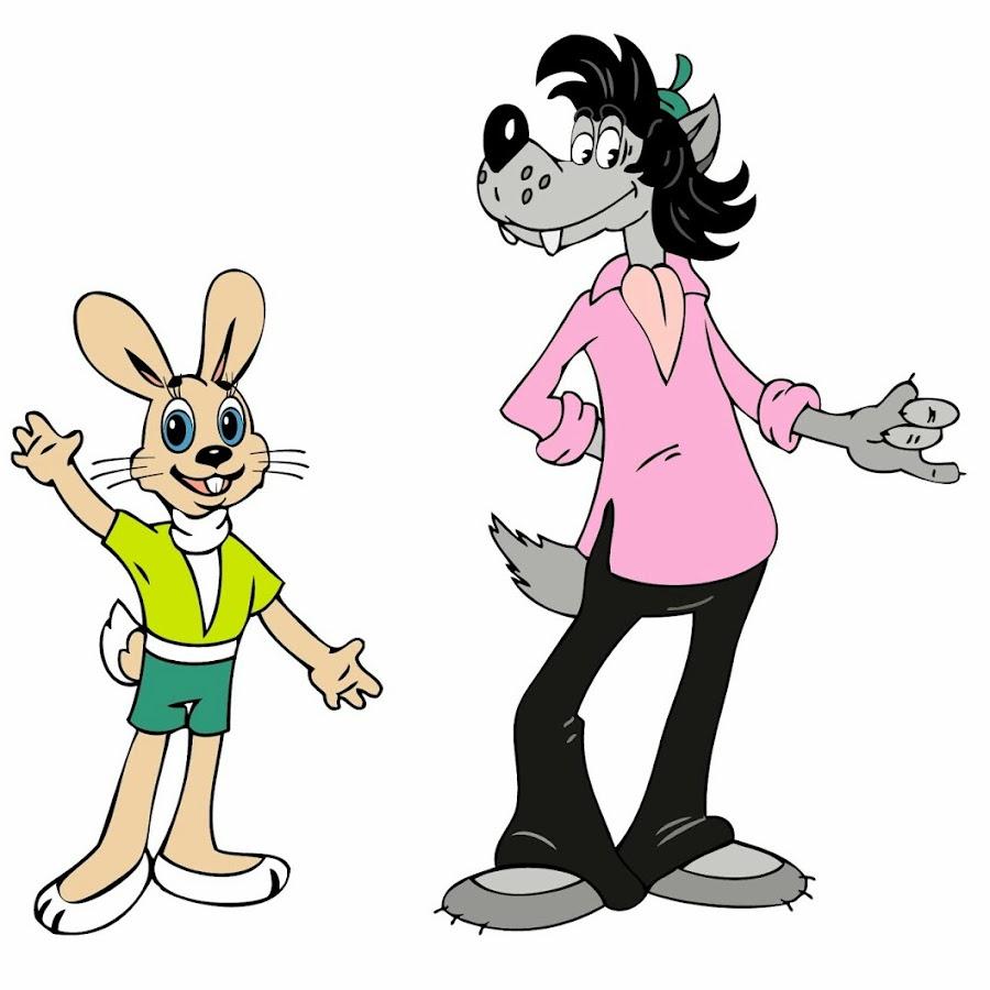 Картинки заяц и волк
