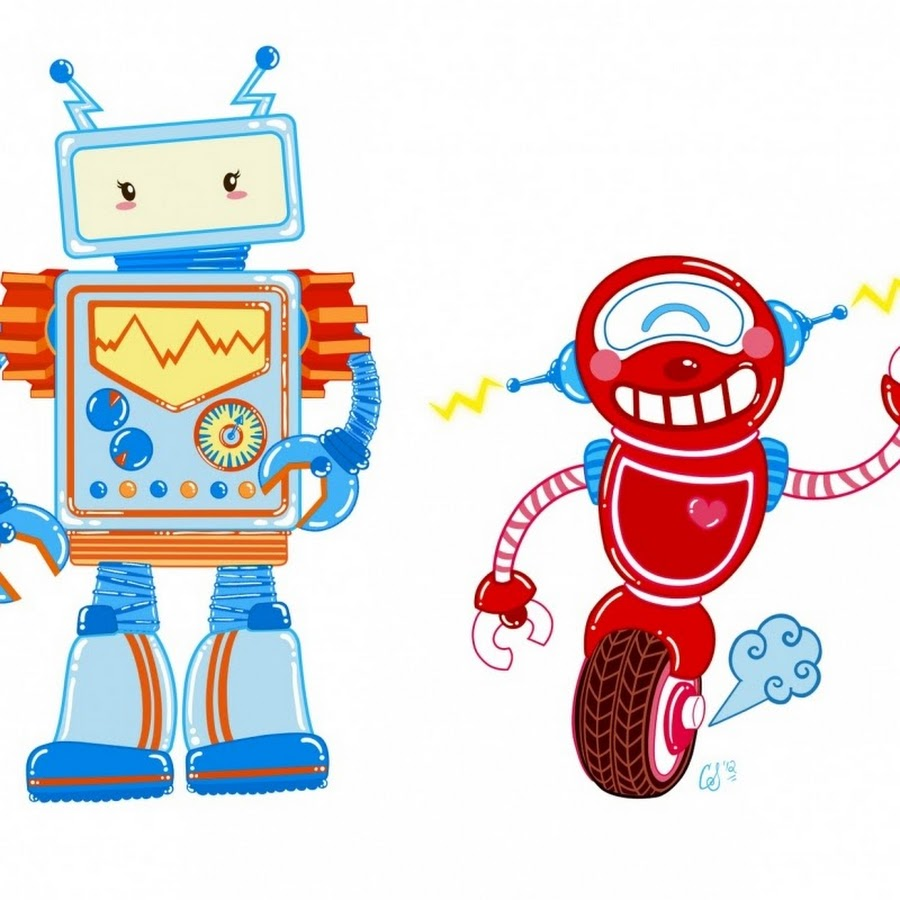 хочется роботы рисунок цветной для