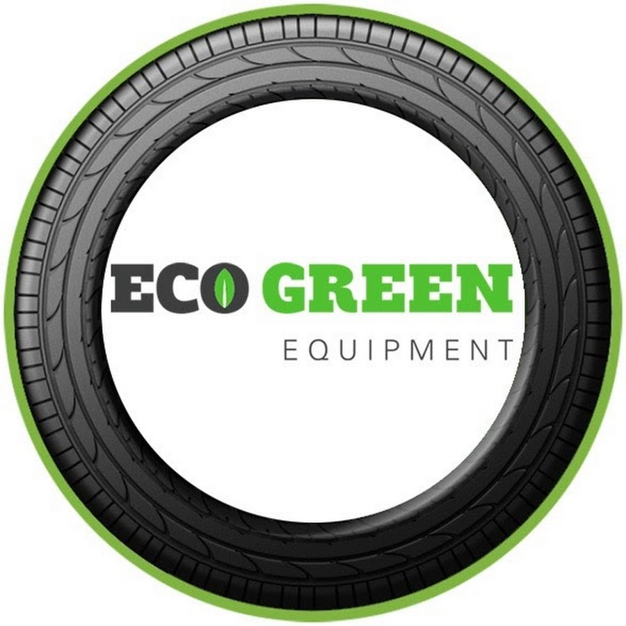 eco green equipment usa tire recycling equipment  shredders youtube