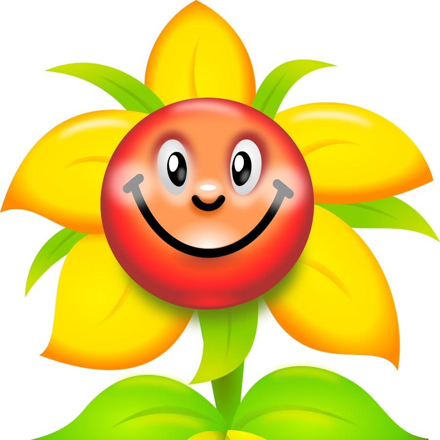 Веселый цветок картинка для детей, репка
