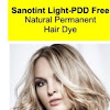 Natural Permanent Hair Dye Tints without PPD