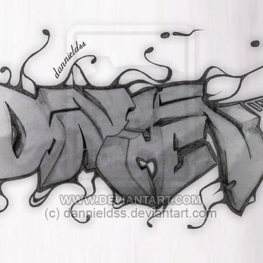 Картинки с именем данил граффити