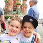 Família na Rússia! -