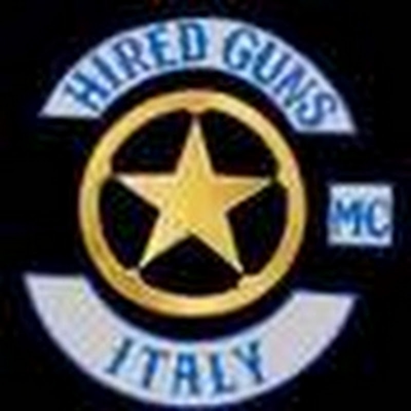 HIRED GUNS MC ITALY Law enforcement Motorcycle Club-THE