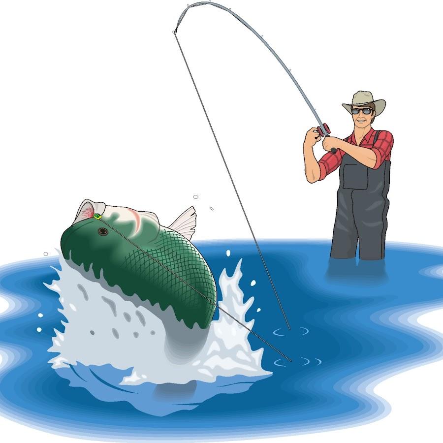 Нарисовать открытку с рыбаками