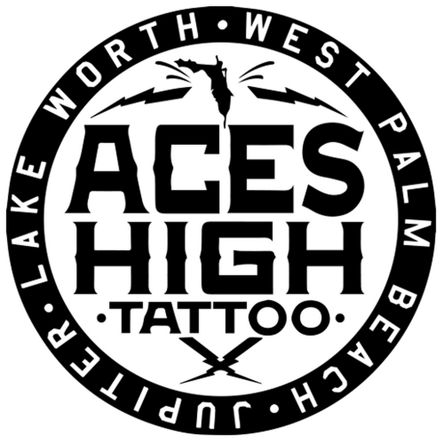 Aces High Tattoo Shop - YouTube