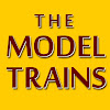 The model trains