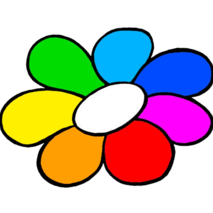 Открытки, гифка цветик семицветик на прозрачном фоне