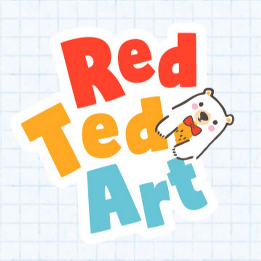 Red Ted Art Youtube