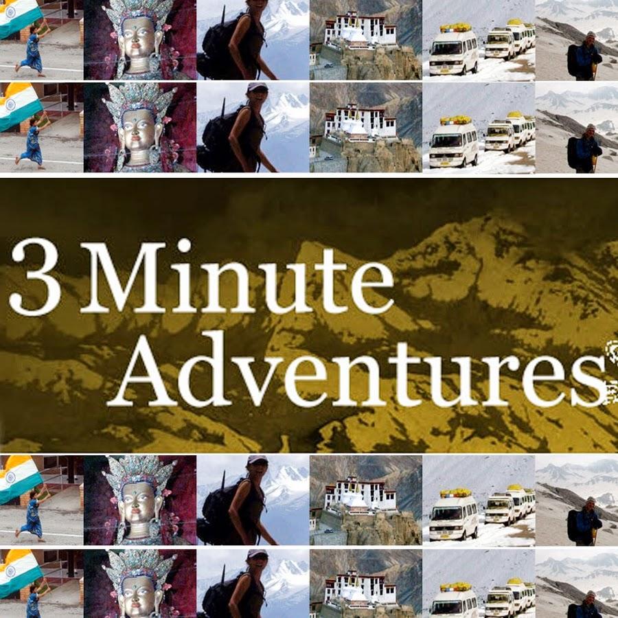 3 minute adventures youtube. Black Bedroom Furniture Sets. Home Design Ideas