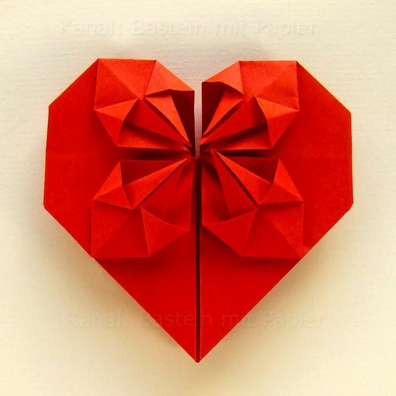 Weihnachtsbasteln Papier.Basteln Origami Schmetterling Falten Mit Papier Bastelideen