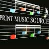 Print Music Source