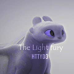 The Light fury HTTYD3