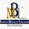 Banco Metalli Italiano Vicenza compro oro e argento ag.01
