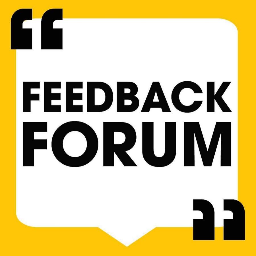 Feedback Forum YouTube