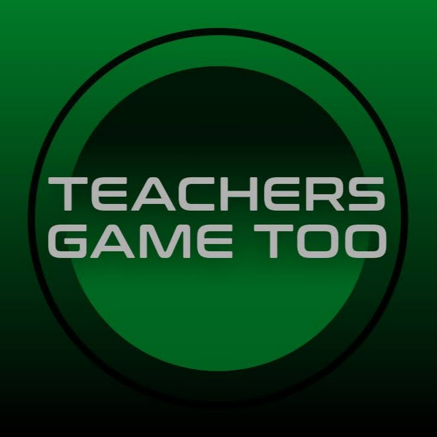 Teachers Game Too - YouTube