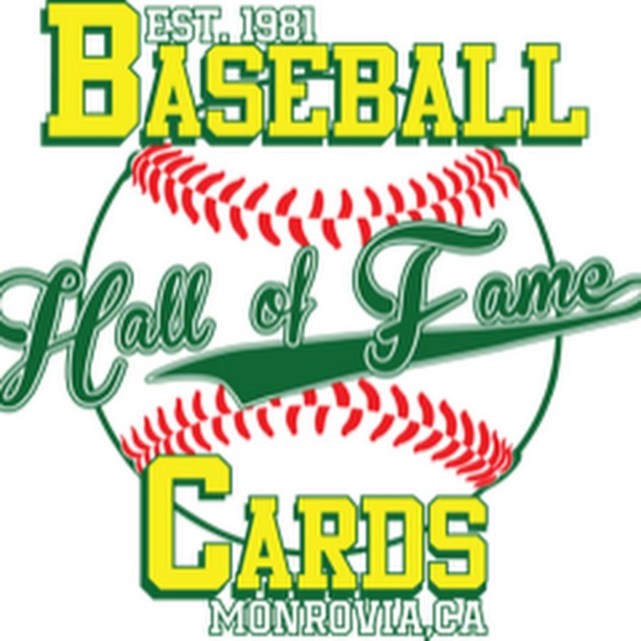 Hall Of Fame Baseball Cards Youtube