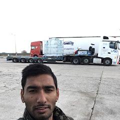 Punjabi truck driver in portugal