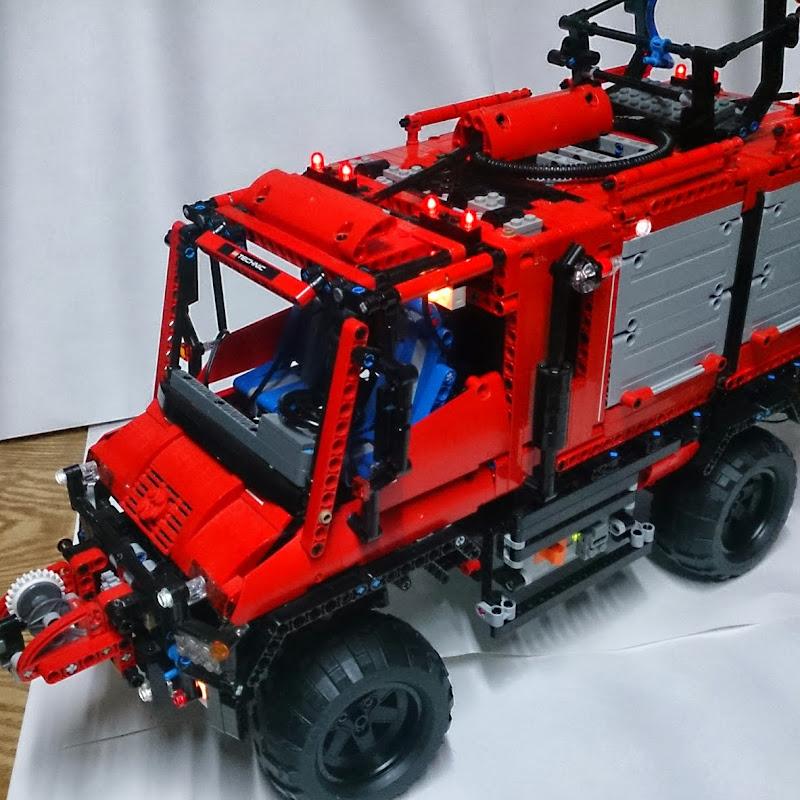 Lego Rc Unimog Firetruck Moc Technic Motorizedfull Pf Funnycattv