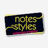 Notes de Styles Architecture d'intérieur
