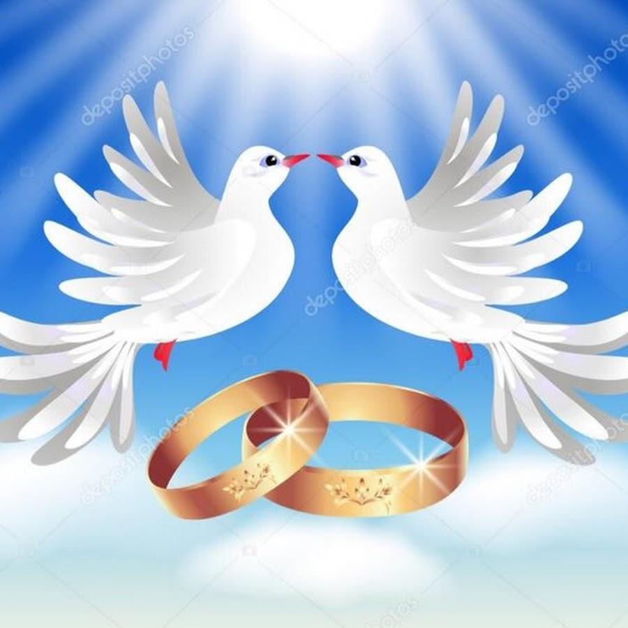 Открытка на венчание голуби, приколы ангел