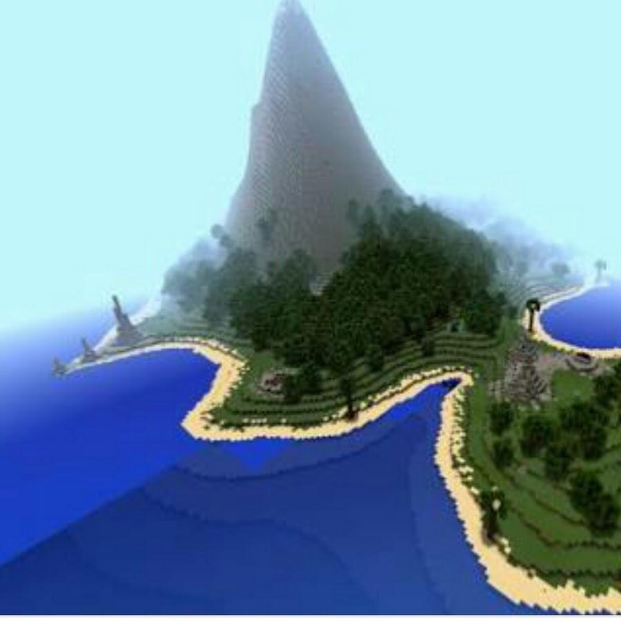карты для майнкрафт острова #6