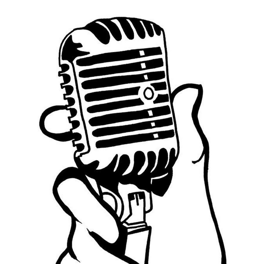 Рисунок микрофона в картинках