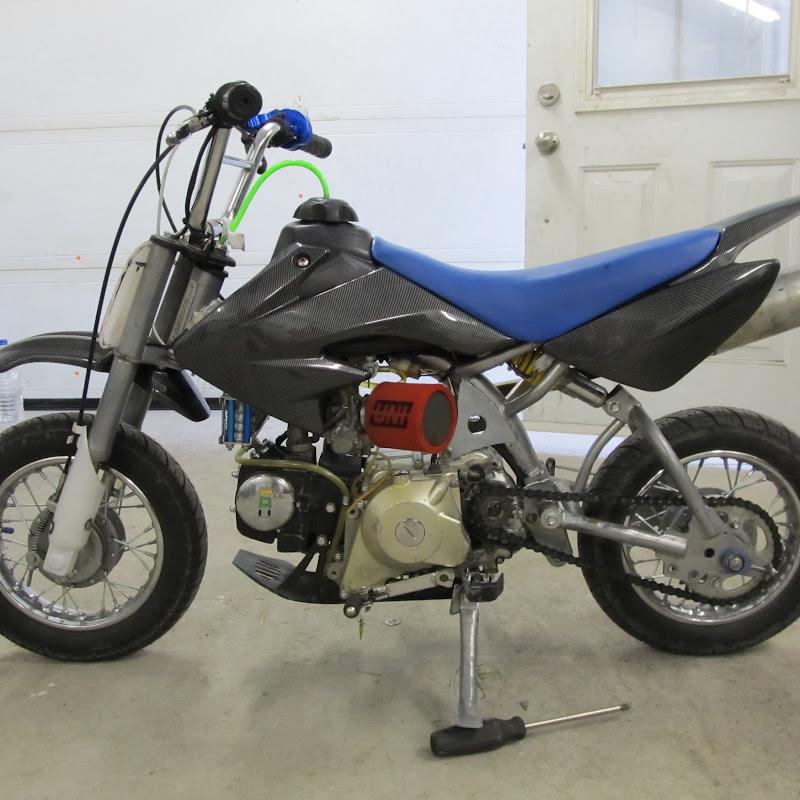 110cc pit bike engine teardown & rebuild pt3 | FunnyCat TV