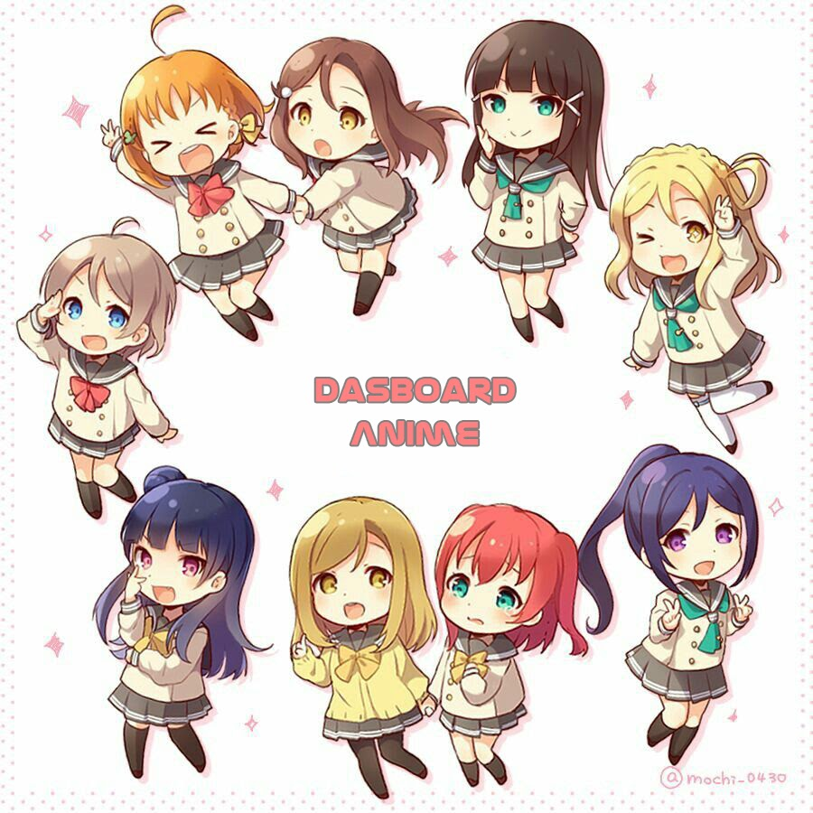 Dasboard Anime