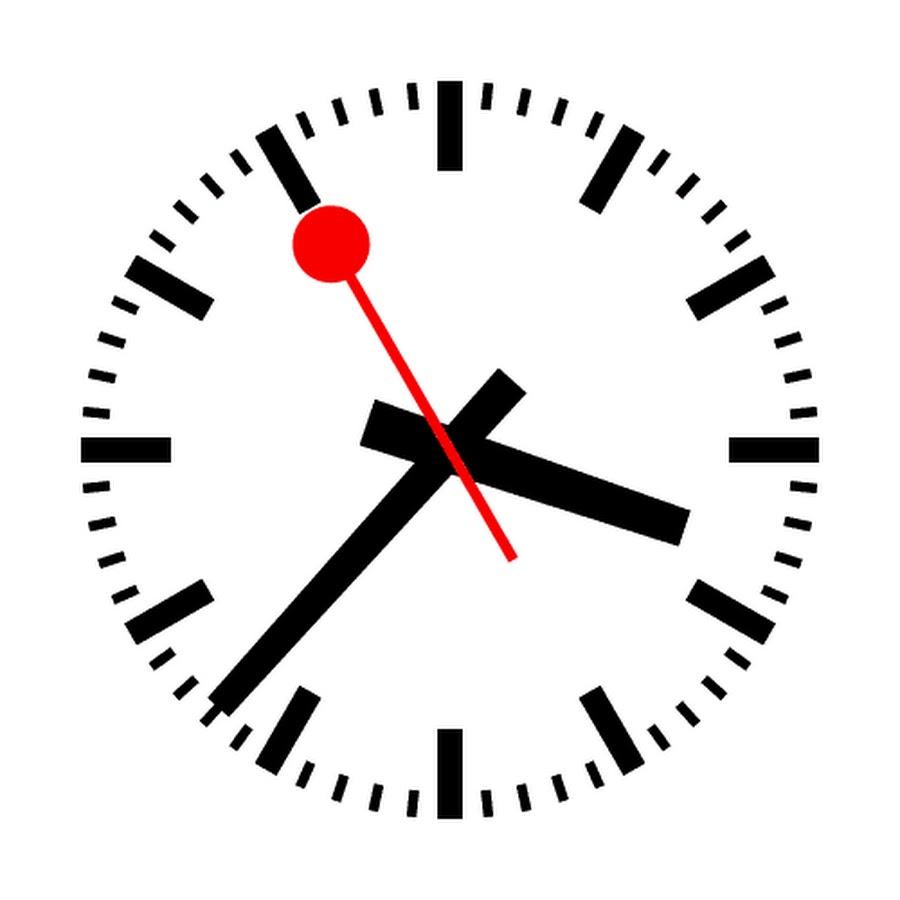Картинка анимашка часы