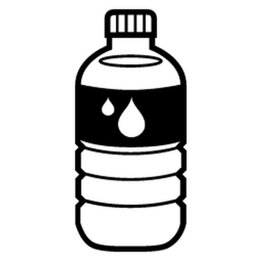 sports bottle drawing - 512×512