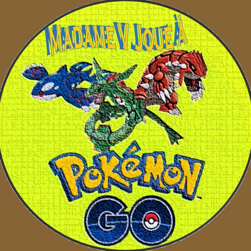 Madame V joue à Pokemon Go