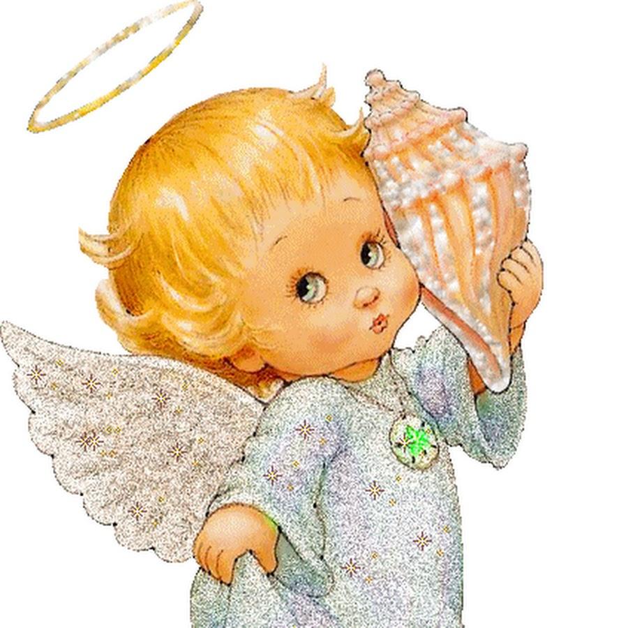 Картинки и анимашки ангелочки, открытки благословениями