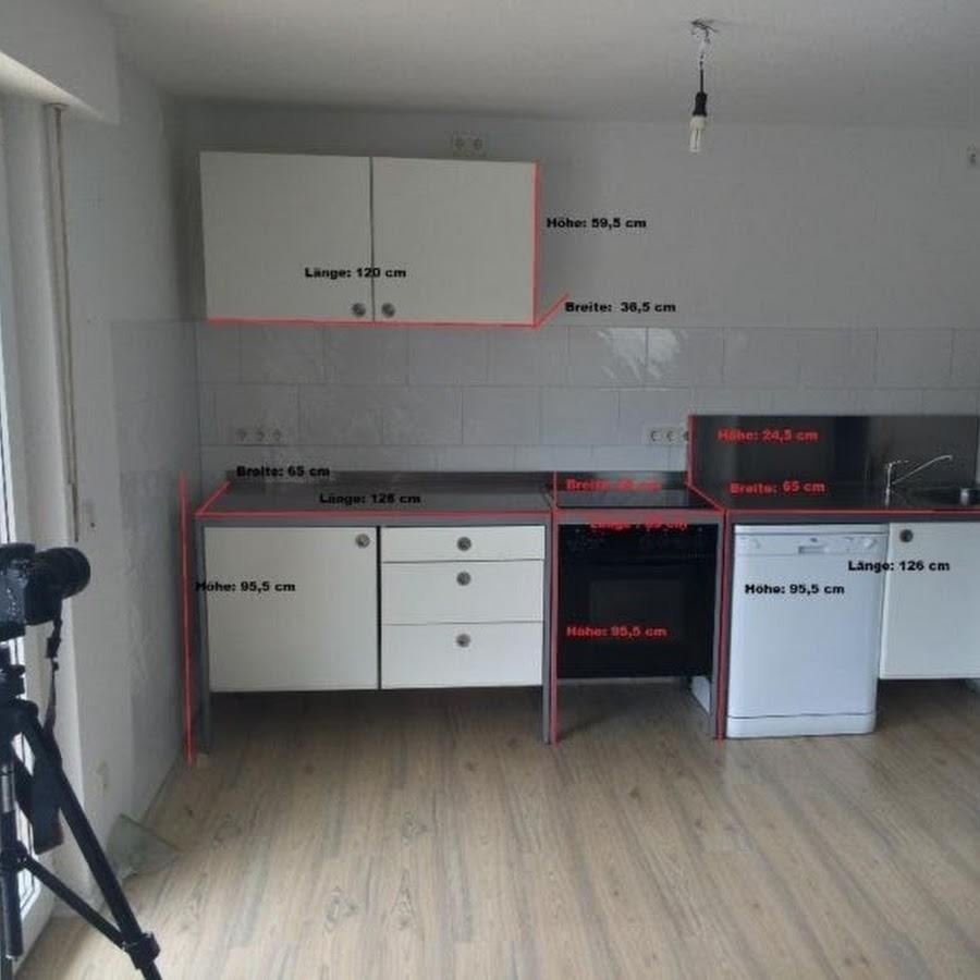 Gebrauchte Ikea Küche UDDEN - YouTube