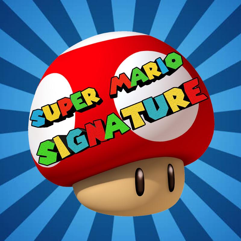 Super Mario Signature (super-mario-signature)