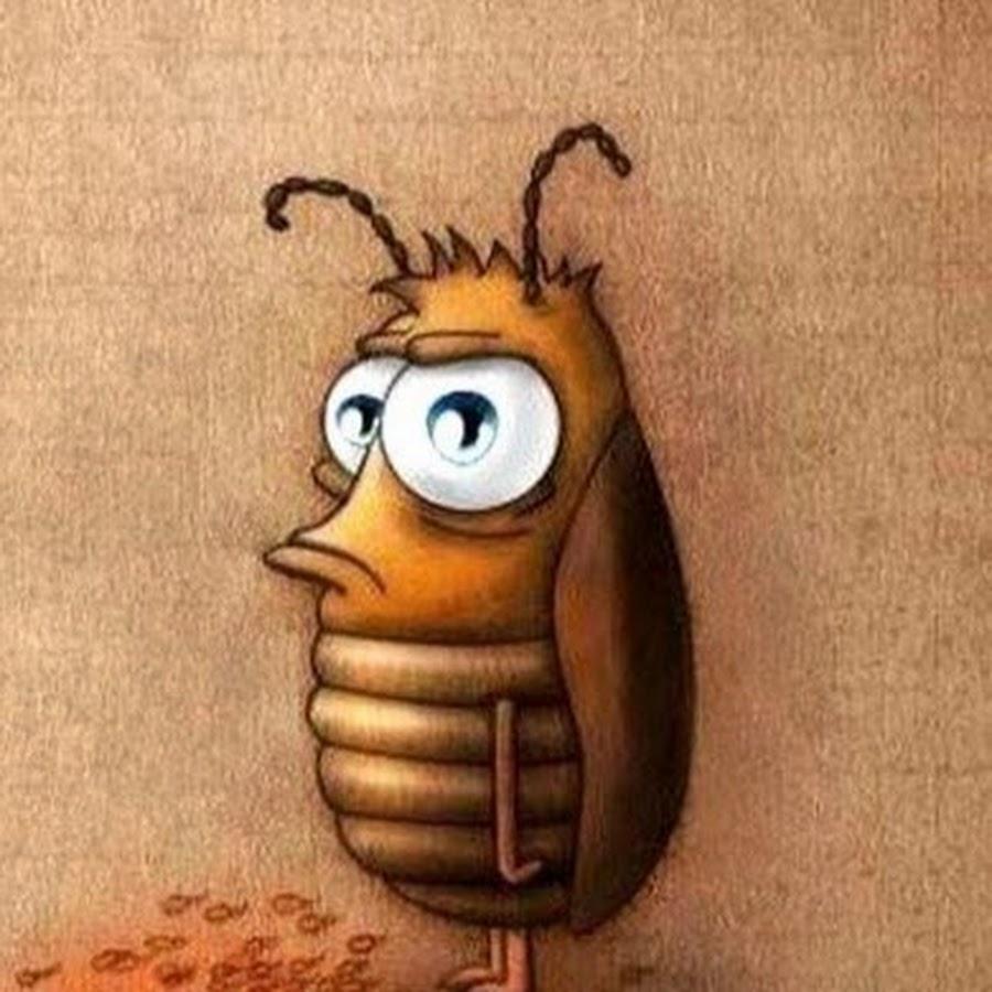 Прикольные рисунки тараканов, привет