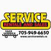Service Rentals & Sales
