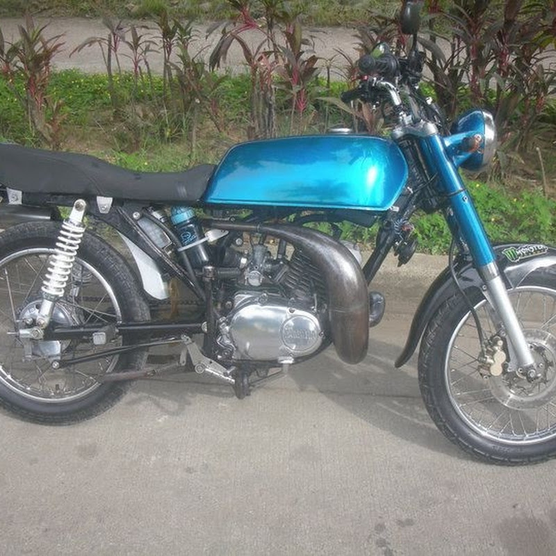 Yamaha RS 100/RXT 135/RP125/RS125 with new tuned pipe | Doovi